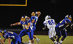Oxford High's Parker Adamson (3) passes vs. Senatobia in high school football in Oxford, Miss. on Friday, September 9, 2011. Oxford won 40-20.