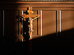 10.12.12 Oak Room Crucifix 4.JPG by Matt Cashore/University of Notre Dame