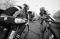 Milan-San Remo preparations..the day before.Oscar Freire before last training ride