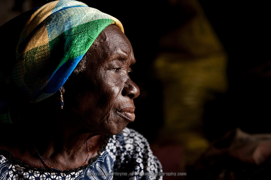 Hawa Iddrisu is the leader of the women at the Kpatinga camp for alleged witches.