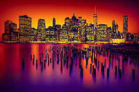 New York City Manhattan skyline