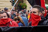 Milano 1 Maggio 2015<br /> Mayday  NoExpo  <br /> Manifestazione  contro l'apertura dell'Esposizione universale Milano 2015. <br /> Milan, May 1, 2015<br /> Mayday NoExpo<br /> Demonstration to protest against Universal Exposition Milano 2015.
