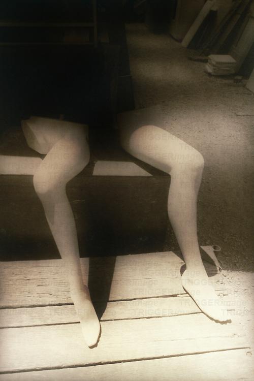mannequin legs reversed
