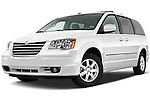 Chrysler Town and Country Touring Minivan 2010 Stock Photo