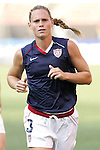 16 June 2007: United States defender Christie Rampone, pregame. The United States Women's National Team defeated the Women's National Team of China 2-0 at Cleveland Browns Stadium in Cleveland, Ohio in an international friendly game.
