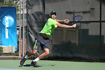 14 May 2016: Dartmouth's Brendan Tannenbaum. The Tulane University Green Wave played the Dartmouth College Big Green at the Cone-Kenfield Tennis Center in Chapel Hill, North Carolina in a 2015-16 NCAA Division I Men's Tennis Tournament First Round match. Tulane won the match 4-0.
