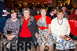 Front row at the Strictly Come Dancing night in the Sea Lodge were l-r; Una O'Connell, Teresa Curran, Doreen O'Leary & Marian Dwane.