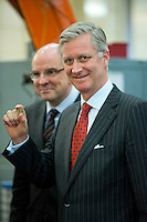 King Philippe of Belgium first coins with his portrait - Belgium