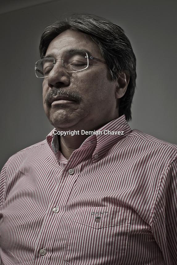 Marco Carrillo. Académico, candidato a la presidencia municipal de la capital del estadopor el Partido del Trabajo (PT).
