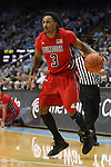 09 November 2012: Gardner-Webb's Tashan Newsome. The University of North Carolina Tar Heels played the Gardner-Webb University Runnin' Bulldogs at Dean E. Smith Center in Chapel Hill, North Carolina in an NCAA Division I Men's college basketball game. UNC won the game 76-59.