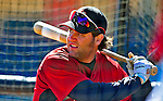2 March 2009: Houston Astros' first baseman Lance Berkman warms up prior to a Spring Training game against the New York Yankees at Osceola County Stadium in Kissimmee, Florida. The teams played to a 5-5, 9-inning tie. Mandatory Photo Credit: Ed Wolfstein Photo