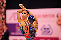 Erina Narimatsu (JPN),..OCTOBER 28, 2011 - Rhythmic Gymnastics : AEON CUP 2011 Worldwide R.G. Club Championships at Tokyo Metropolitan Gymnasium, Tokyo, Japan. (Photo by Jun Tsukida/AFLO SPORT) [0003]