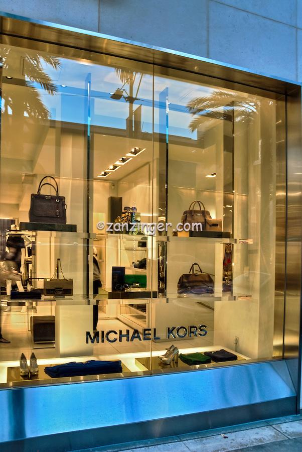 Michael Kors Beverly Hills CA; Rodeo Drive; Luxury Fashion Shopping