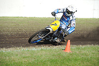 MOTORSPORT: JOURE: 18-05-2014, MC Flying Boetoe, Grasbaanraces Nutsbaan, Jeffrey Woortman (Warten), ©foto Martin de Jong