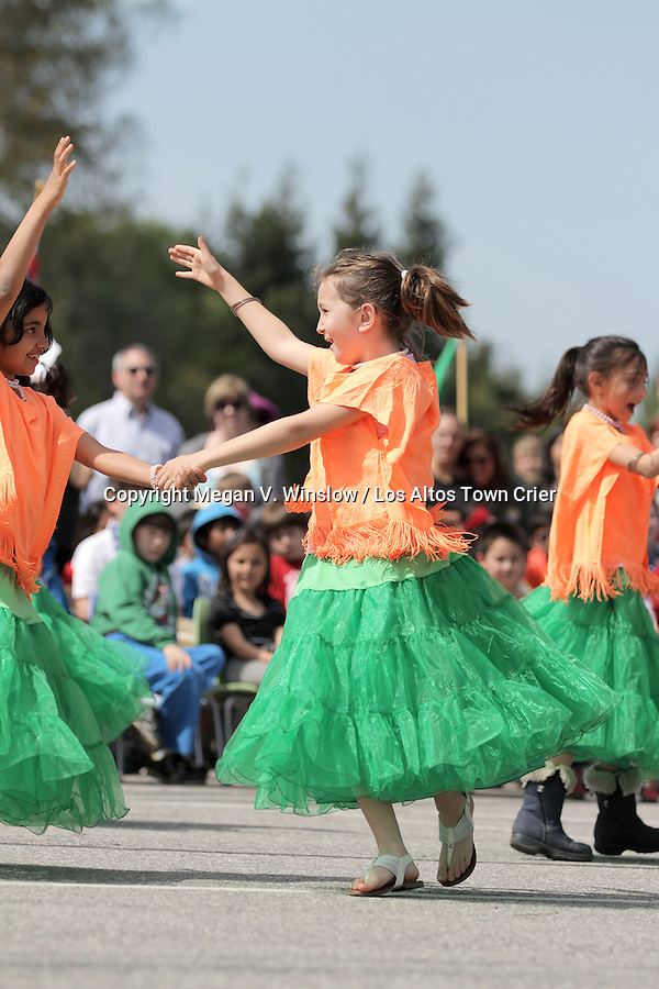 Santa Rita School celebrated International Week last week. The event ended Friday, March 18, with a ceremony that included dances from cultures around the world.