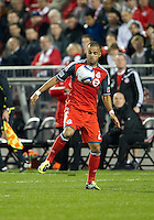 07 May2011: Toronto FC forward Maicon Santos #29 in action during an MLS game between the Houston Dynamo and the Toronto FC at BMO Field in Toronto, Ontario..Toronto FC won 2-1.