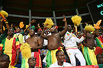 Mali supporters cheer for their team ahead of the 2017 Africa Cup of Nations group D football match between Mali and Egypt in Port-Gentil on January 17, 2017. Photo by Stranger