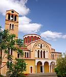 Catholic church Holy Bishopric Church of Panagia Katholiki in Limassol Cyprus