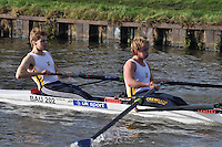 316 BAU Bath Uni. Wycliffe Small Boats Head 2011. Saturday 3 December 2011. c. 2500m on the Gloucester Berkeley Canal