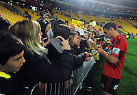 Super 15 rugby match - Crusaders v Hurricanes at Westpac Stadium, Wellington, New Zealand on Saturday, 18 June 2011. Photo: Dave Lintott / lintottphoto.co.nz