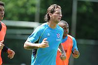 VOETBAL: LANGEZWAAG: 25-06-2013, Training sc Heerenveen, Eredivisie seizoen 2013/2014, Mitchell Dijks, © Martin de Jong
