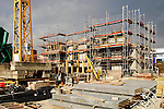 Baustelle eines Wohnblocks in Vaduz..&copy;Paul Trummer, Mauren / FL.www.travel-lightart.com.