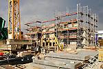 Baustelle eines Wohnblocks in Vaduz..©Paul Trummer, Mauren / FL.www.travel-lightart.com.