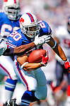 11 September 2005: Shaud Williams, runningback for the Buffalo Bills, in the season opening game, hosting the Houston Texans on September 11, 2005.  The Bills, wearing their 60s throwback uniforms, defeated the Texans 22-7, winning their first game of the season at Ralph Wilson Stadium in Orchard Park, NY.<br />