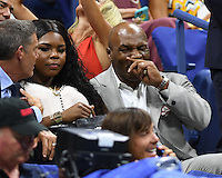 FLUSHING NY- AUGUST 29: Mike Tyson seen during opening night ceremony on Arthur Ashe Stadium at the USTA Billie Jean King National Tennis Center on August 29, 2016 in Flushing Queens. Credit: mpi04/MediaPunch