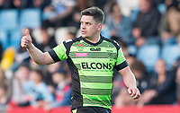 Picture by Allan McKenzie/SWpix.com - 11/05/2017 - Rugby League - Ladbrokes Challenge Cup - Featherstone Rovers v Halifax RLFC - The LD Nutrition Stadium, Featherstone, England  - Scott Murrell gives the thumbs up to the fans.