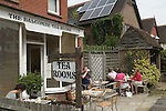 Balcombe West Sussex UK. The Balcombe Tea Rooms, local residents and tourists.