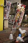 Pachinko parlour near Tokyo Station on a Sunday morning.