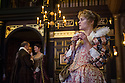London, UK. 14.01.2014. The new Sam Wanamaker Playhouse, at Shakespeare's Globe, opens with The Duchess of Malfi, by John Webster, directed by Dominic Dromgoole. Picture shows: Denise Gough (Julia). Photograph © Jane Hobson.