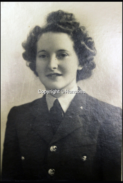 BNPS.co.uk (01202 558833)<br /> Pic: Hansons/BNPS<br /> <br /> Colonel Sir Peter Hilton's wife Lady Winifred.<br /> <br /> An impressive group of Second World War medals awarded to a remarkable husband and wife have emerged for auction and are tipped to sell for &pound;10,000.<br /> <br /> Courageous Colonel Sir Peter Hilton was one of only 25 men to be awarded the Military Cross three times, while his wife Lady Winifred was a member of the Women's Auxillary Air Force who worked in special operations on radar, decoding and cyphers in Liverpool and Belfast.<br /> <br /> The supercouple - who amassed a staggering 19 medals between them - met in 1940 when Sir Peter was billeted in Matlock, Derbyshire, after being evacuated from Dunkirk. They got married two years later.