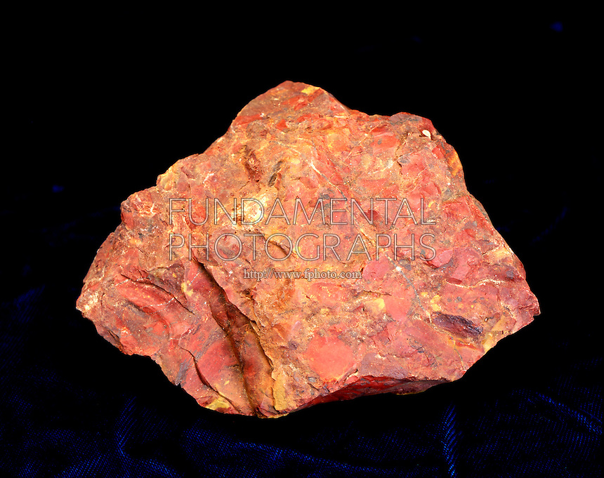 JASPER: A MICROCRYSTALLINE QUARTZ<br /> An Opaque Variety Of Chalcedony (SiO2)<br /> Microcrystalline minerals appear amorphous because their tiny crystals cannot be seen with the naked eye.