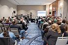 "Nov. 20, 2105; Shamrock Series academic event: ""Irish in America: Immigration, Religion and Politics,"" sponsored by the Keough-Naughton Institute for Irish Studies. (Photo by Matt Cashore/University of Notre Dame)"