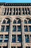 St.  Paul:  St. Paul Building (formerly Germania Bank Building), 1889. J, Walter Stevens, architect. Eight story bank and office building--exterior of rich brown sandstone.  NRHP 1977.  Restored in 2004 by Buildings Consulting Group.  Photo '97.