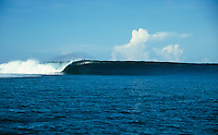 Empty wave at Cloudbreak, Tavarua island, Fiji, 2000..photo:  joliphotos.com