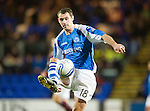 St Johnstone v Hearts..15.12.12      SPL.David McCracken.Picture by Graeme Hart..Copyright Perthshire Picture Agency.Tel: 01738 623350  Mobile: 07990 594431