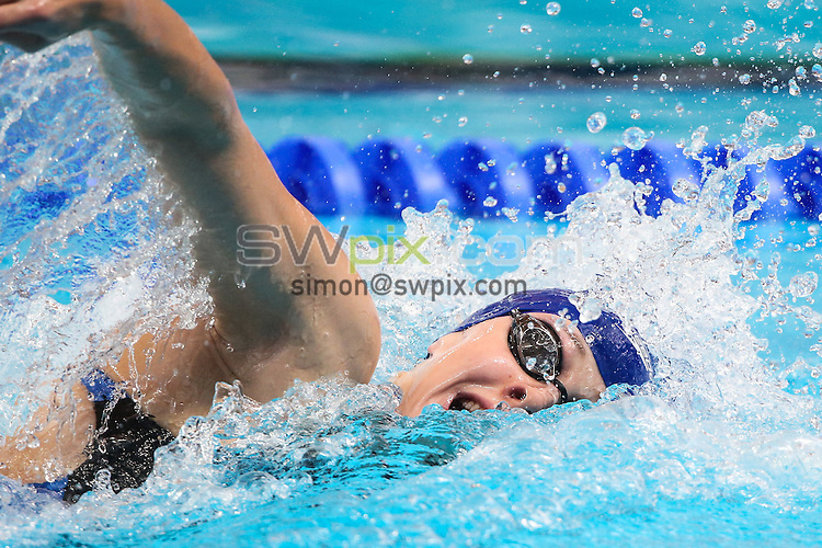 Picture by Alex Whitehead/SWpix.com - 06/08/2015 - Swimming - 16th FINA World Swimming Championships 2015 - Kazan Arena Stadium, Kazan, Russia - Great Britain's Siobhan-Marie O'Connor competes in the Women's 4x200m Relay heats.