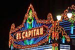 El Capitan Theatre, Hollywood, Los Angeles, CA
