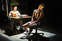London, UK. 03.10.2014. Mountview Academy of Theatre Arts presents VERNON GOD LITTLE, at the Bridewell Theatre. Picture shows: Katie Dalzell and Asan N'Jie (Vernon God Little). Photograph © Jane Hobson.