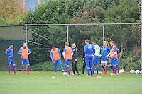 VOETBAL: HEERENVEEN: 21-10-2015, Sportpark Skoatterwâld, SC Heerenveen training onder leiding van Foppe de Haan, ©foto Martin de Jong