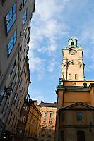 Storkyrkan in the old town, Stockholm, Sweden