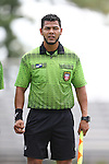 30 August 2015: Assistant Referee Gustavo Solorio. The Elon University Phoenix played the Saint Mary's College Gaels at Koskinen Stadium in Durham, NC in a 2015 NCAA Division I Men's Soccer match. Elon won the game 1-0.