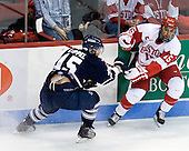 Jeff Zippel (Toronto - 15), Ryan Santana (BU - 15) - The Boston University Terriers defeated the visiting University of Toronto Varsity Blues 9-3 on Saturday, October 2, 2010, at Agganis Arena in Boston, MA.