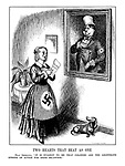 """Two Hearts That Beat As One. Frau Germania. """"It is evident to me that colonies are the legitimate sphere of action for Herr Micawber."""""""
