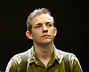 Johnny Got His Gun <br /> by Dalton Trumbo<br /> adapted for stage by Bradley Rand Smith <br /> at Southwark Playhouse, London, Great Britain <br /> press photocall<br /> 23rd May 2014 <br /> <br /> directed by David Mercatali <br /> <br /> Jack Holden