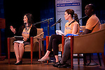 "Randi Zuckerberg at the 92nd Street Y speaking on the topic of Malaria at a Social Good Summit ""Town Hall"" with Mandy Moore in New York.   ...Photo by Robert Caplin."