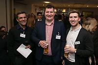 Ravi Kesari of Wren Accountancy Services, Jacob Duckworth of Anthony James Insurance Brokers and Ross Davies of Strafe Creative